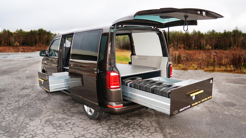 Volkswagen bilinnredning - Dobbelgulv til Transporter, Caddy, Caddy Maxi og Amarok