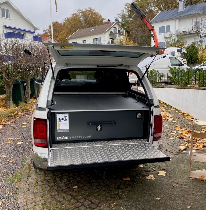 VW Amarok_smartfloor_dubbelgolv
