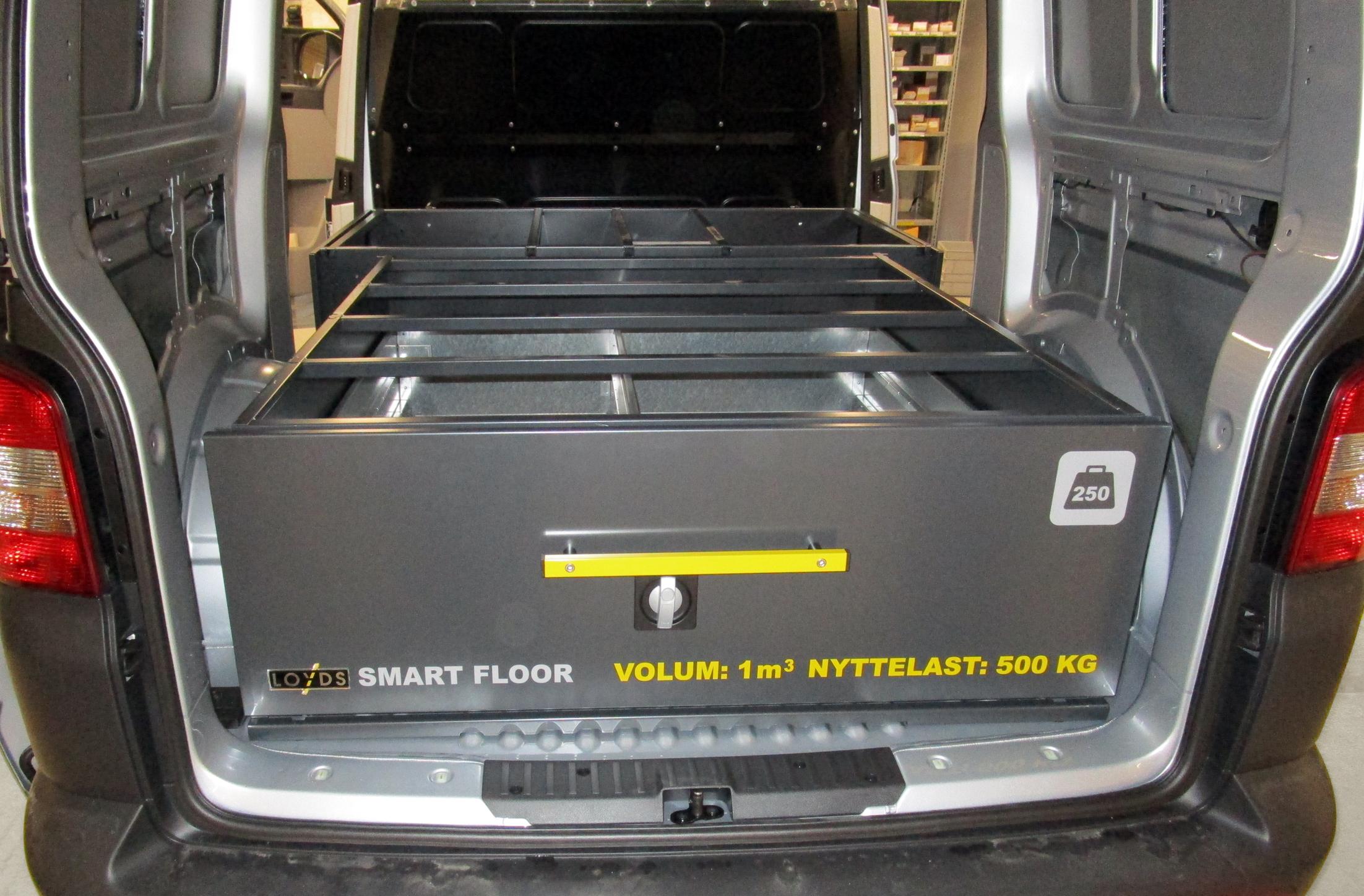 Slik kan du montere bilinnredningen Smartfloor selv